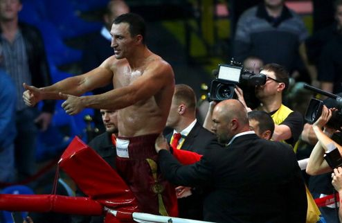 Вл.Кличко: цель — чемпионский пояс WBC