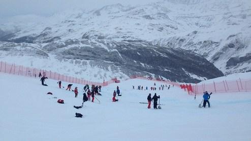 Горные лыжи. Последняя тренировка в Валь-д'Изере отменена
