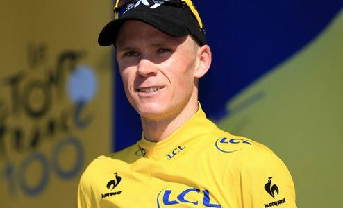 Велоспорт. Фрум продлил контракт с Team Sky