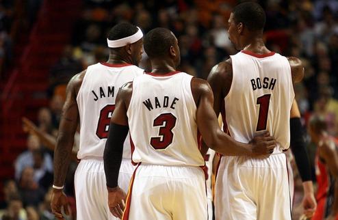 """НБА. Кармело: ЛеБрон, Уэйд и Бош поступили правильно, сформировав """"Большую тройку"""""""