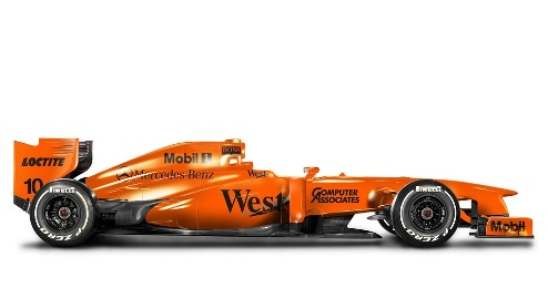 Формула-1. Макларен вернется к оранжевым цветам?