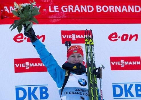 Валентина Семеренко — лучшая спортсменка декабря