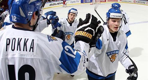 МЧМ. Россия уступает Финляндии