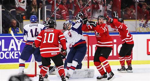 МЧМ. Волевая победа канадцев