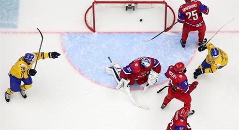 МЧМ. Швеция вырывает победу у сборной России