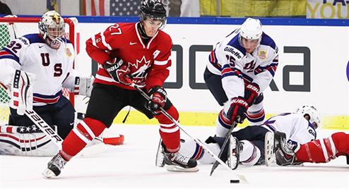 МЧМ. Канада минимально обыгрывает США