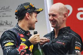 """Формула-1. Ньюи: """"Феттель показал в 2013-м году ошеломляющий уровень пилотирования"""""""