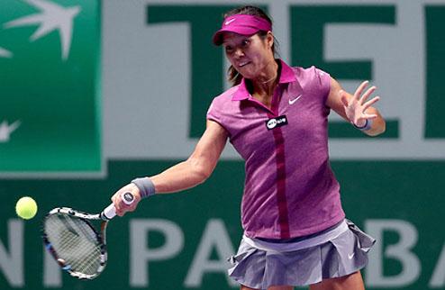 Шеньчжэн (WTA). На Ли и Пенг в финале