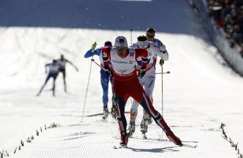 Тур де Ски. Норвежцы доминирируют в Валь ди Фиемме