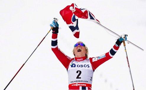 Тур де Ски. Йохауг выигрывает общий зачет