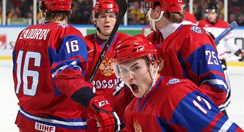 МЧМ. Россия минимально побеждает Канаду и занимает третье место