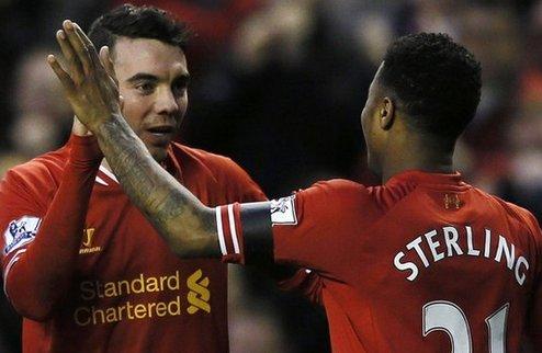 Ливерпуль — в четвертом раунде Кубка Англии, Суонси бьет МЮ