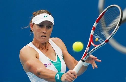 Хобарт (WTA). Мугуруса отправляет домой Флипкенс