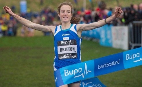 ������ ��������. ������ � �������� �������� �� ������� Bupa Great Edinburgh XCountry-2014