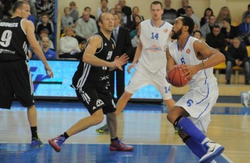 Единая Лига ВТБ. Азовмаш минимально уступает в Латвии