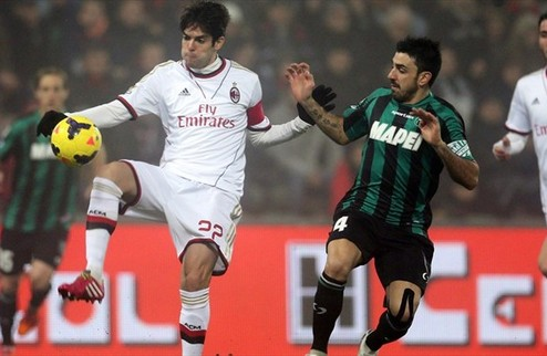 Милан пал под голами Берарди