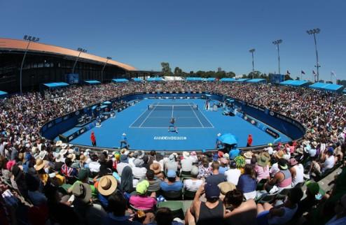 Завтра на кортах Australian Open будет до +41