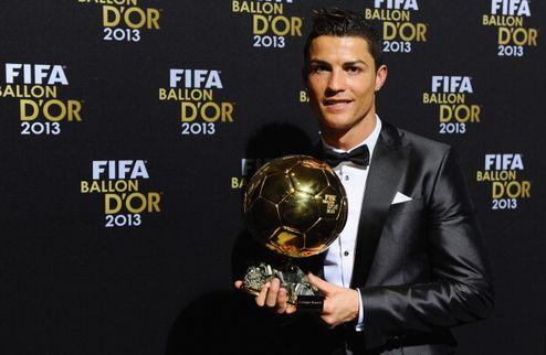 Роналду — обладатель Золотого мяча-2013