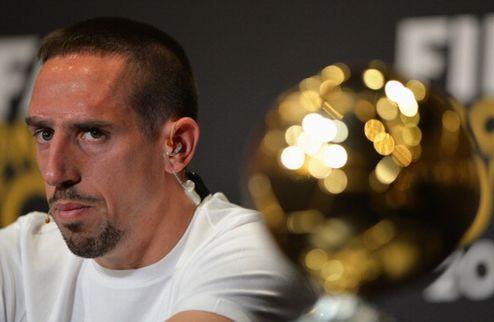 Журналисты отдали Золотой мяч Рибери