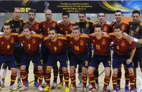 Футзал. Испания огласила заявку на Евро