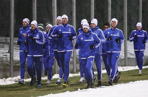Динамо: тренировки начались