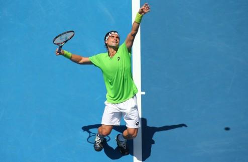 Australian Open (ATP). Джокович, Феррер и Бердых в следующем круге