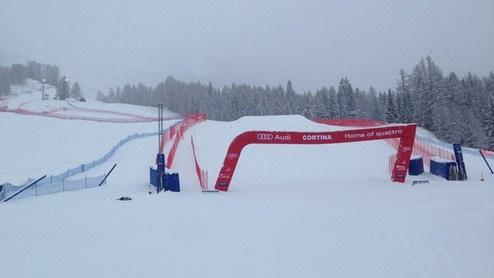 Горные лыжи. Женский скоростной спуск в Кортине отменен