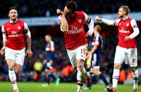 Арсенал и Ман Сити уходят в отрыв