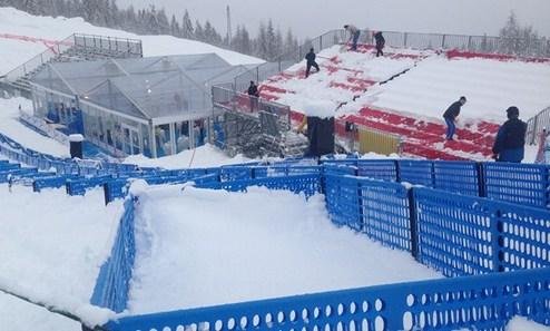 Горные лыжи. Соревнования в Кортине и Гармише перенесены