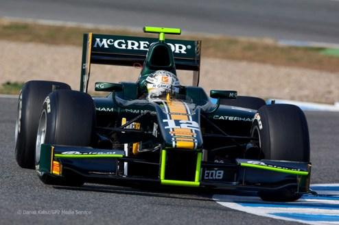 Катерхэм определился с пилотами и в GP2