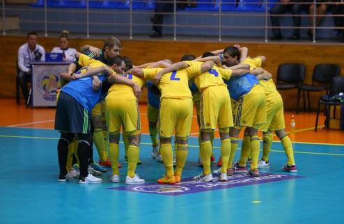 Футзал. Украина: 15 игроков готовятся к Евро