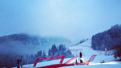 Горные лыжи. Тренировка в Китцбюэле отменена