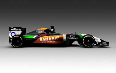 Формула-1. Форс Индия показала изображение нового болида