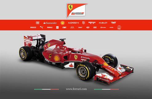 Формула-1. Феррари представила новый болид. ФОТО