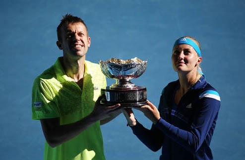 Australian Open. Младенович и Нестор побеждают в миксте
