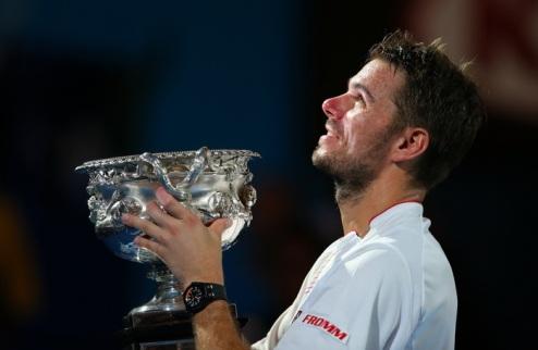 Триумф Вавринки на Australian Open. ФОТО