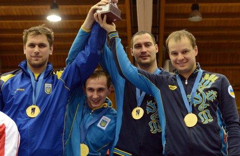 Фехтование.  Украинские шпажисты открыли сезон золотом!