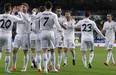 Реал прошел в полуфинал Кубка Испании