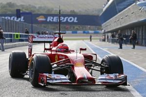 Формула-1. В Феррари довольны первыми днями тестов в Хересе