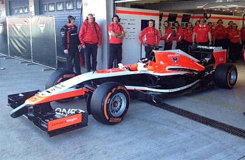 Формула-1. Маруся: новый болид на сезон-2014 представлен