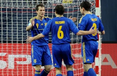 Футзал. Украина начинает Евро с победы!