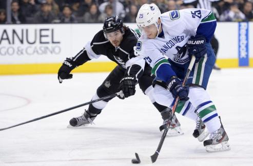 НХЛ. Форвард Ванкувера выбыл до конца сезона