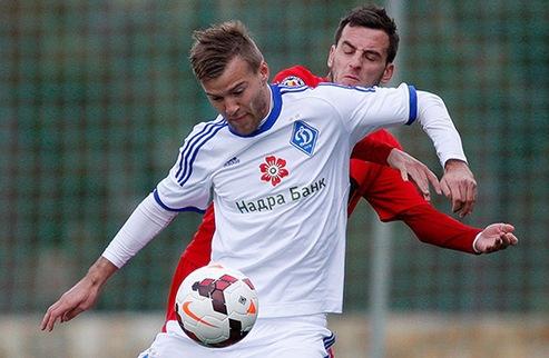 Динамо переиграло одноклубников из Бухареста