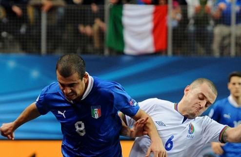 Футзал. Италия уничтожила Азербайджан