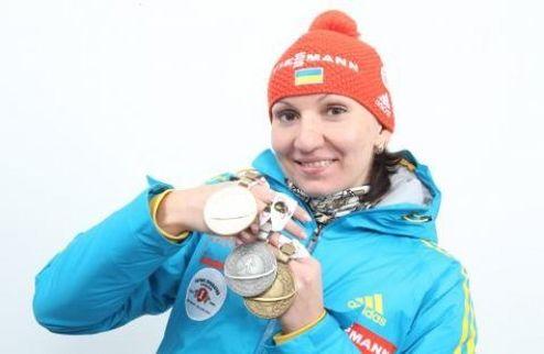 Елена Пидгрушная — лучшая спортсменка января