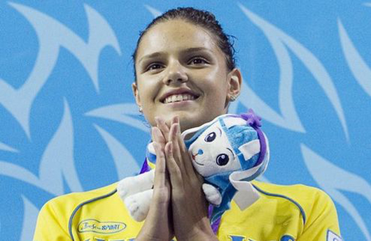 Плавание. Зевина установила рекорд на Кубке Украины