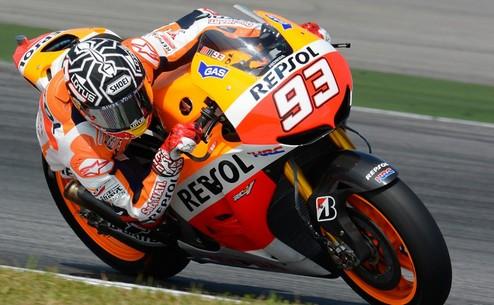 MotoGP. Тесты в Сепанге. Маркес лидирует в первый день