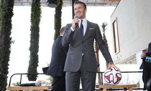 Бекхэм образует футбольный франчайз в Майами