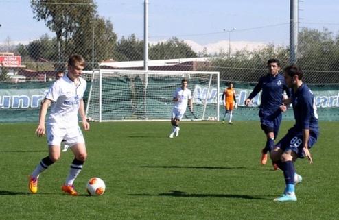 Матч Черноморец — Динамо Тбилиси был прерван