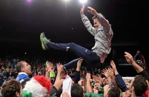 """Меникелли: """"Эта победа очень важна для всего итальянского футзала"""""""